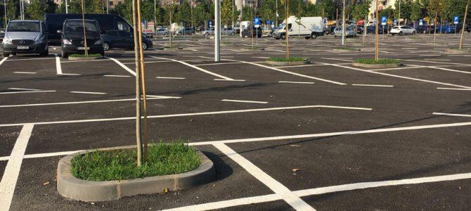 PS4 a distrus 2,5 ha de parc pentru o parcare mai mult goală