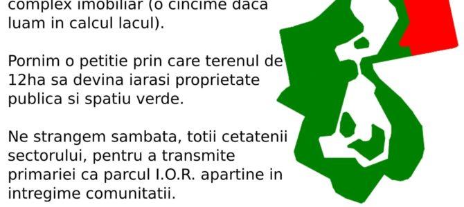 STOP BETONARII PARCULUI I.O.R!